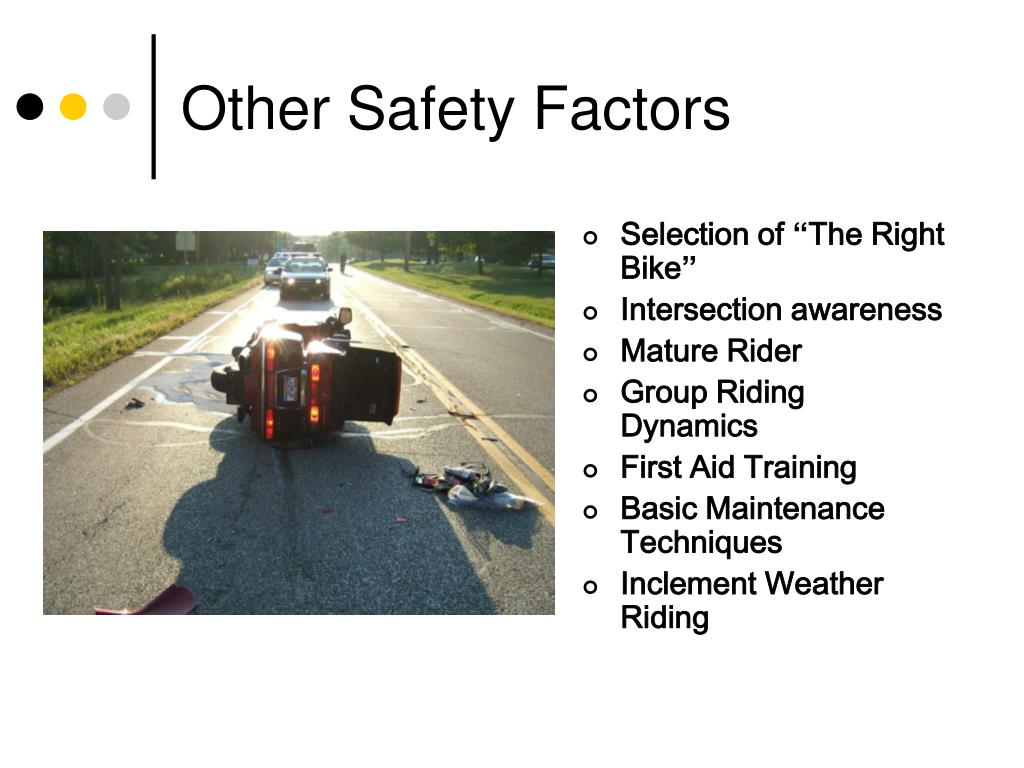 Other Safety Factors