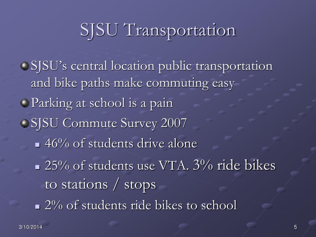 SJSU Transportation