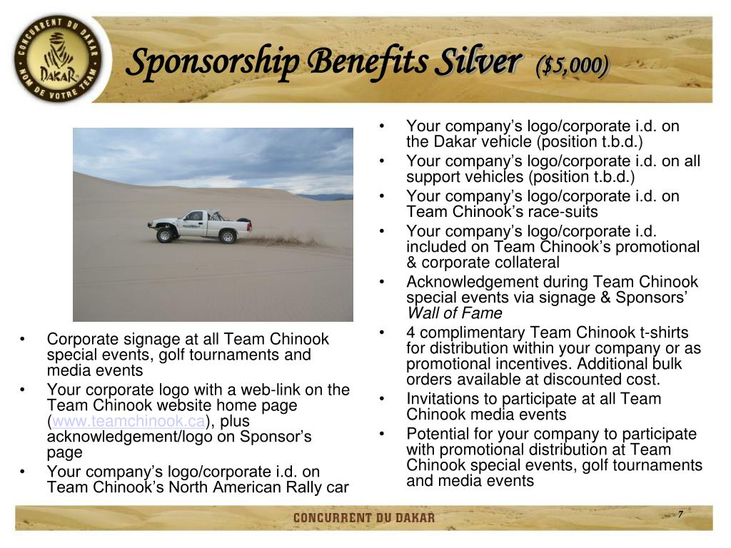 Corporate signage at all Team Chinook special events, golf tournaments and media events