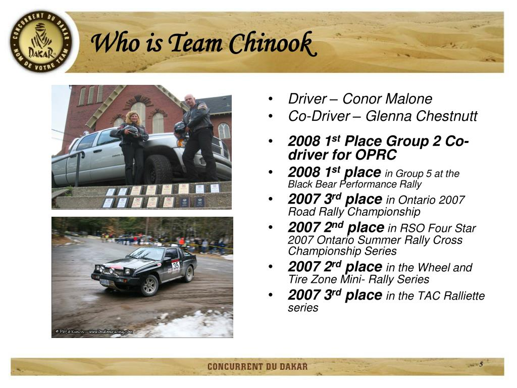 Who is Team Chinook