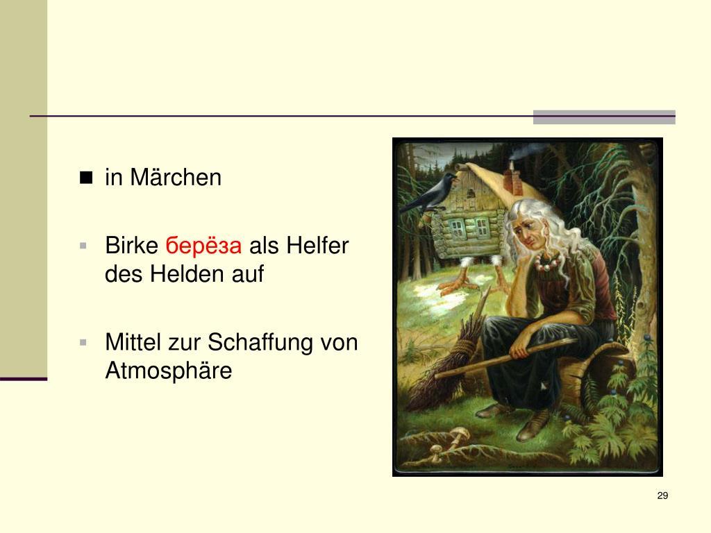 in Märchen