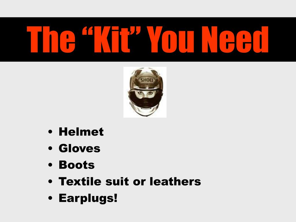 "The ""Kit"" You Need"