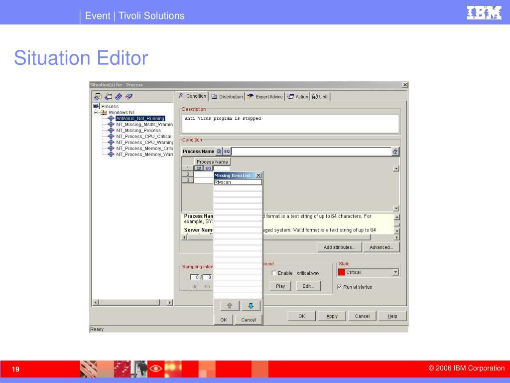 Situation Editor