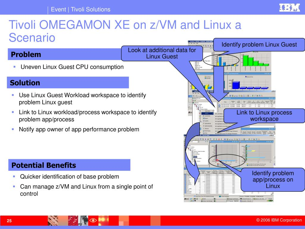 Tivoli OMEGAMON XE on z/VM and Linux a Scenario