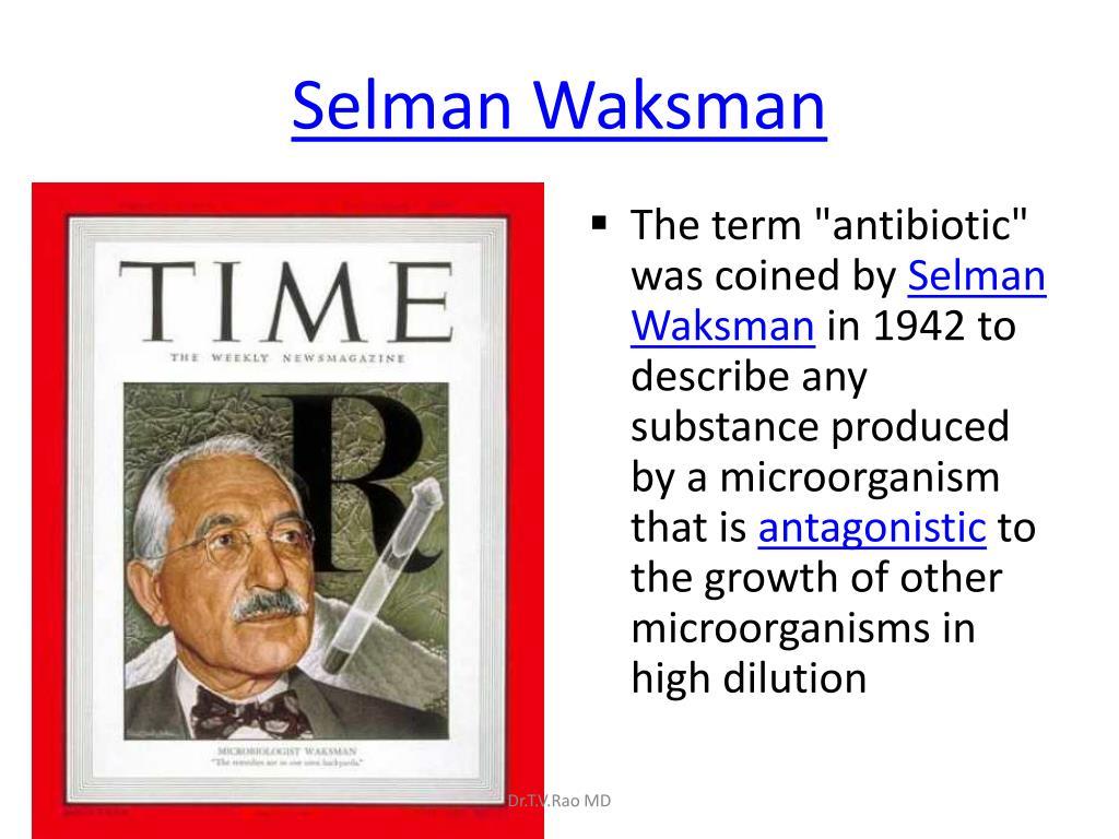 Selman Waksman