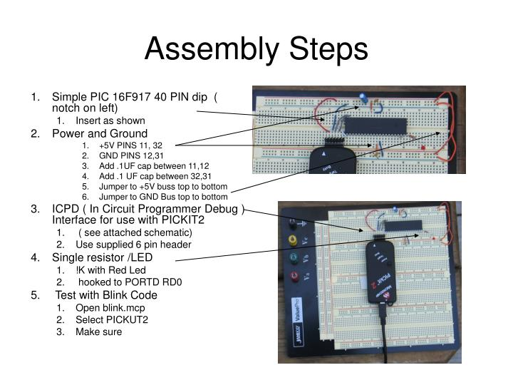 Assembly Steps