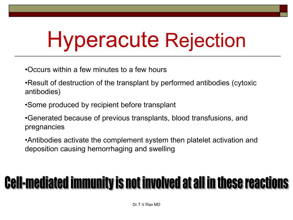 Hyperacute