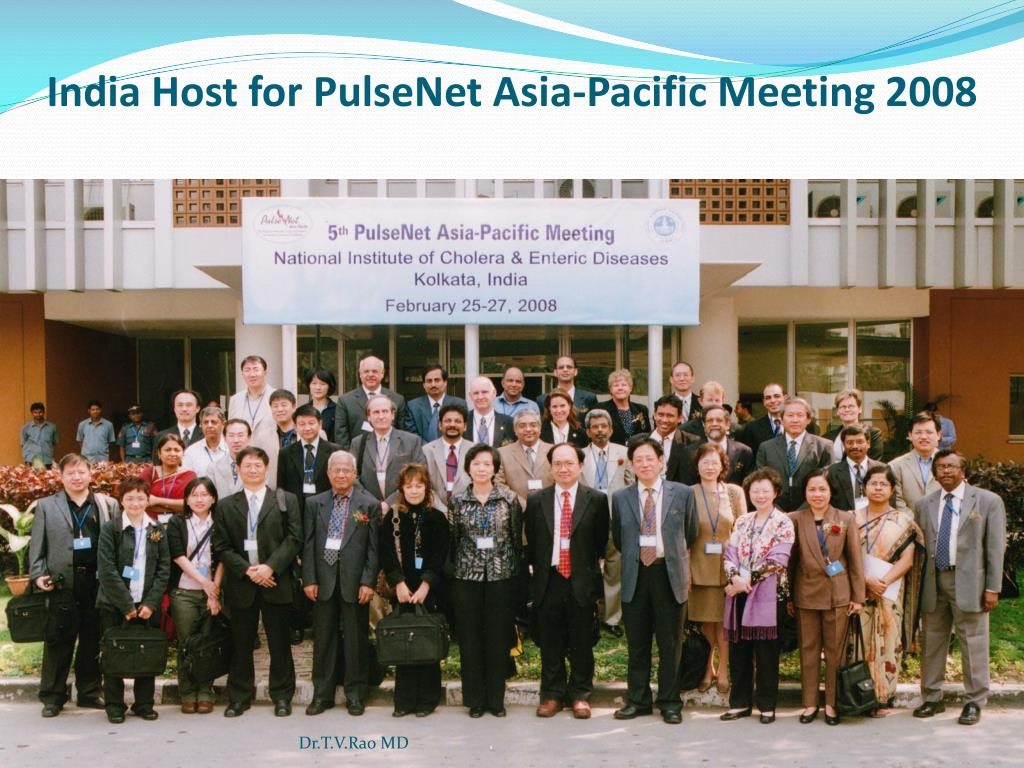 India Host for PulseNet Asia-Pacific Meeting 2008