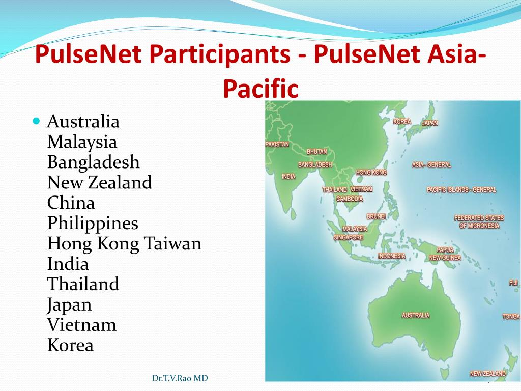 PulseNet Participants - PulseNet Asia-Pacific