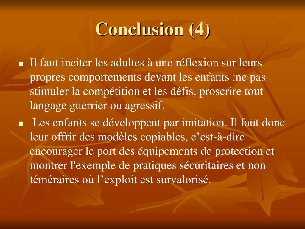 Conclusion (4)