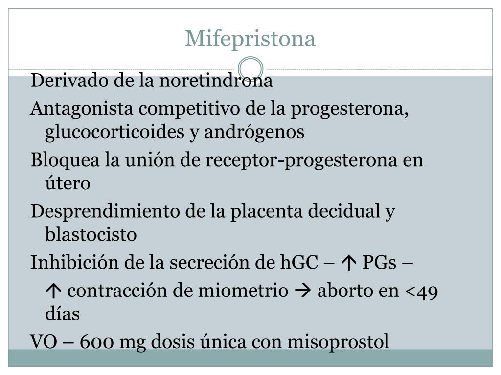 Mifepristona