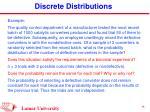 discrete distributions14