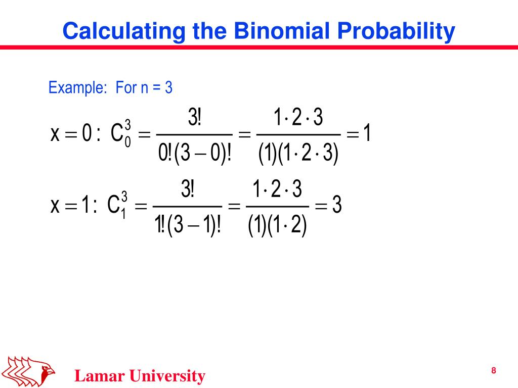 Example:  For n = 3