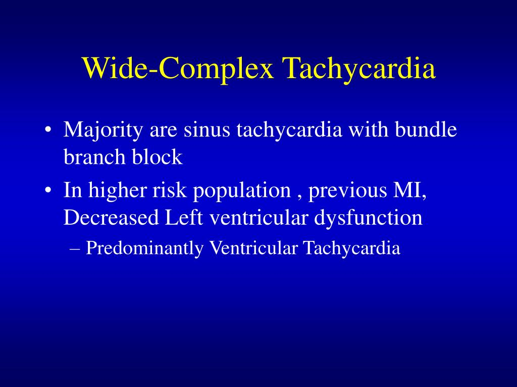 Wide-Complex Tachycardia