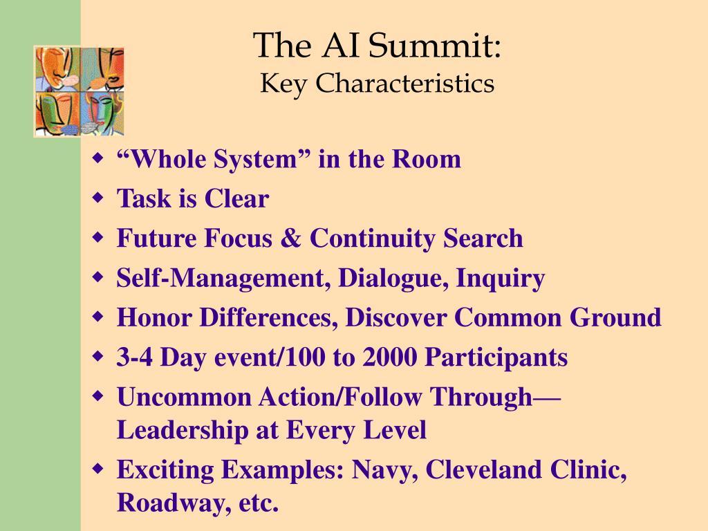 The AI Summit: