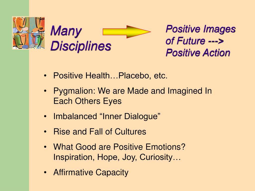 Many Disciplines