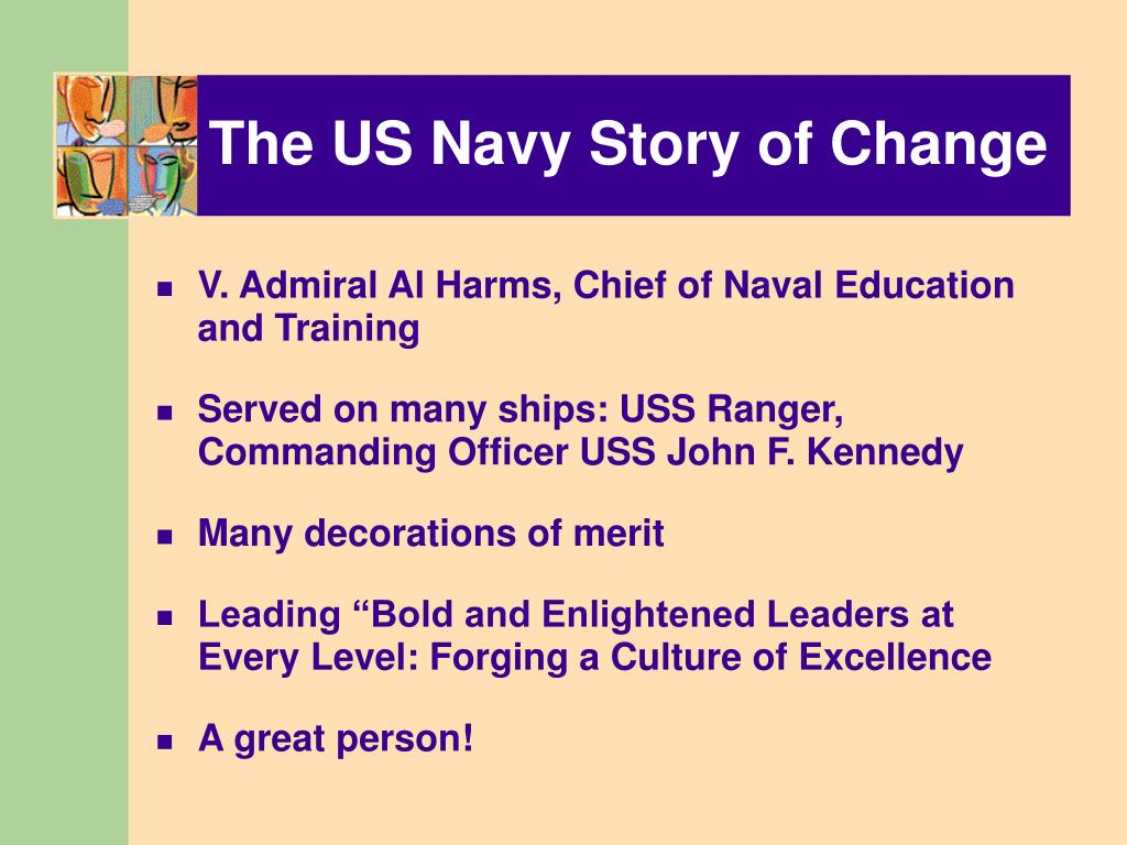 The US Navy Story of Change
