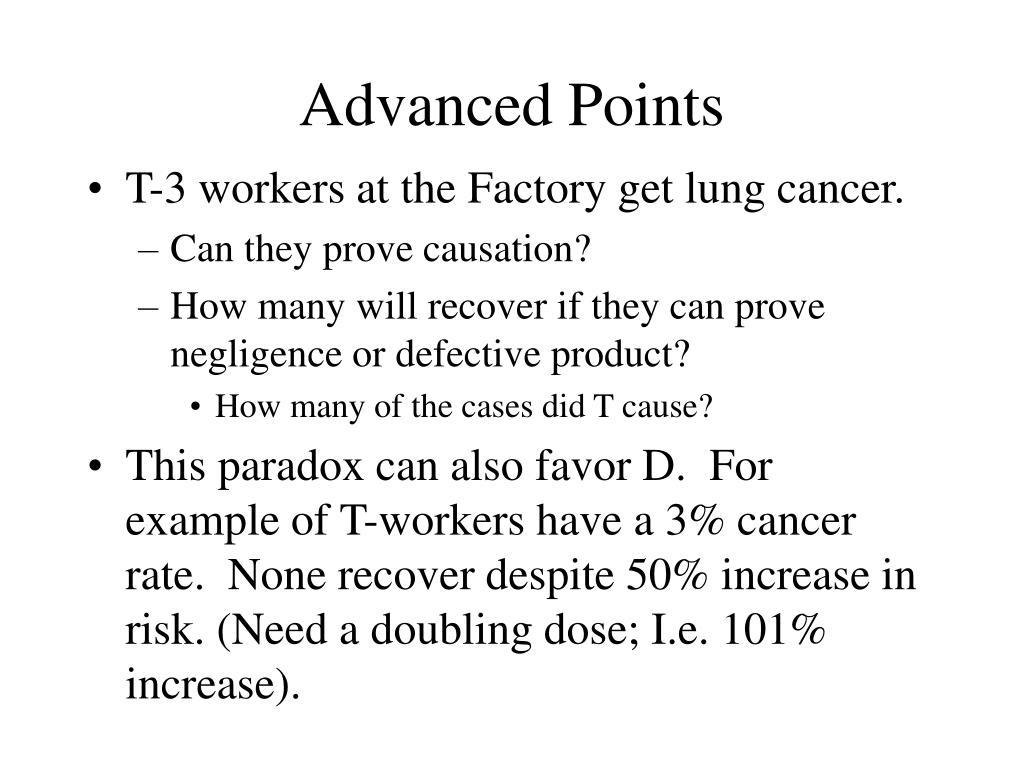 Advanced Points