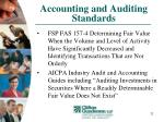 accounting and auditing standards32