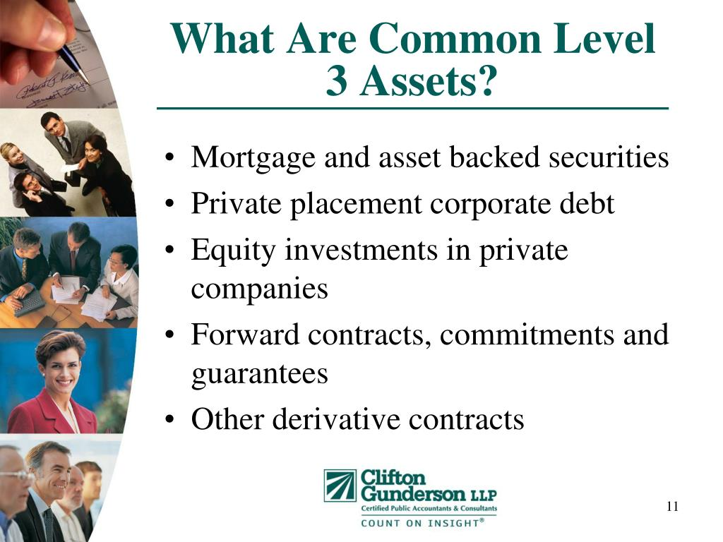 What Are Common Level 3 Assets?