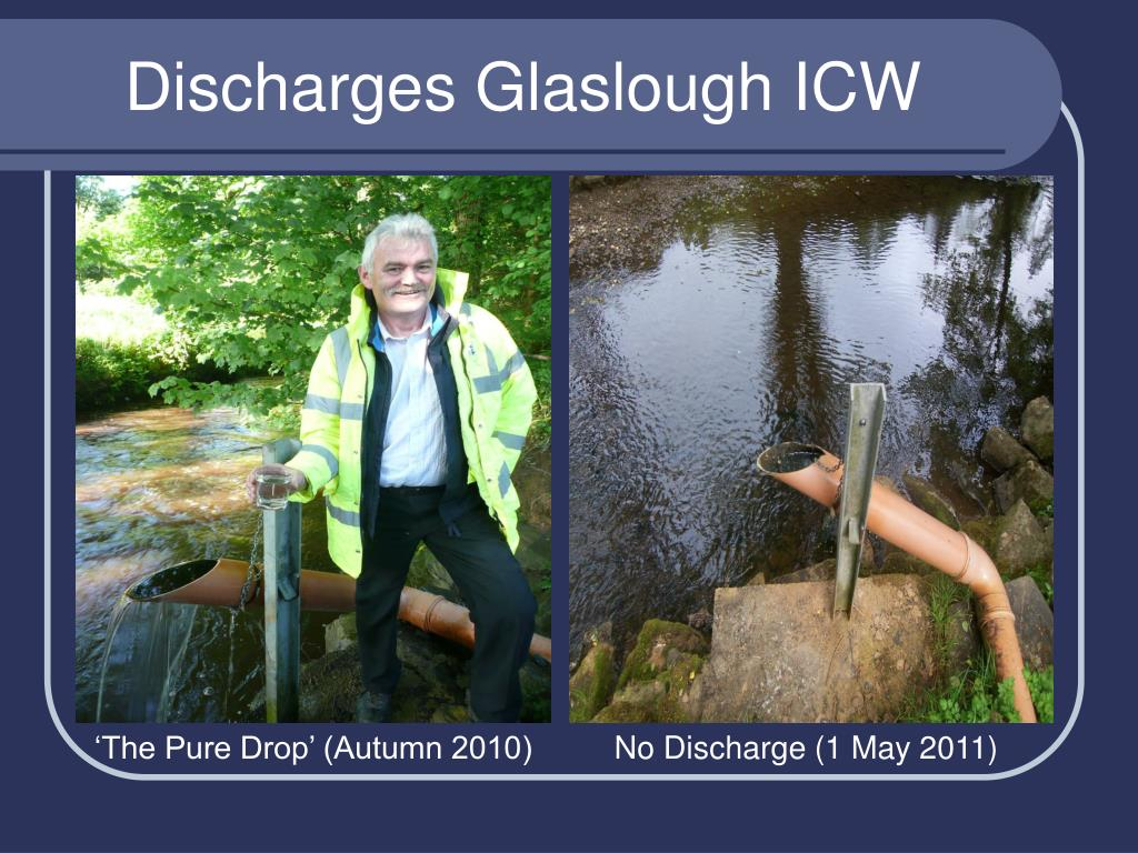 Discharges Glaslough ICW
