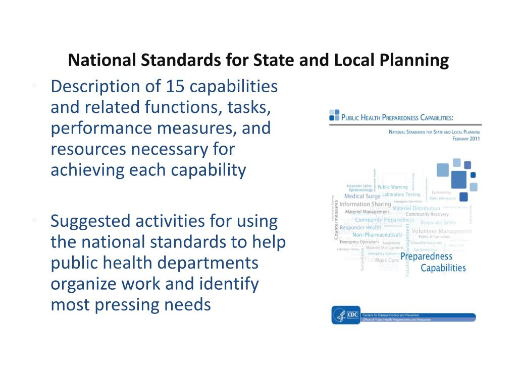 National Standards for State and Local Planning