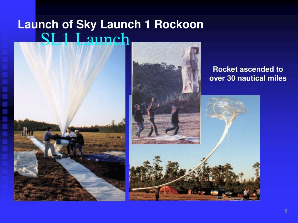 SL1 Launch