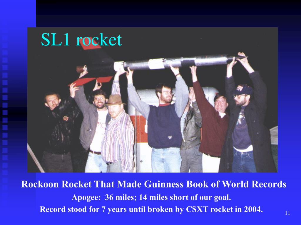 SL1 rocket