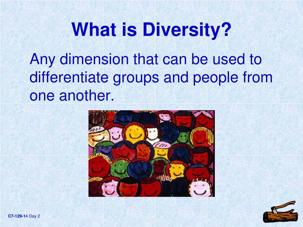 Any dimension that can be used to differentiate groups and people from one another.