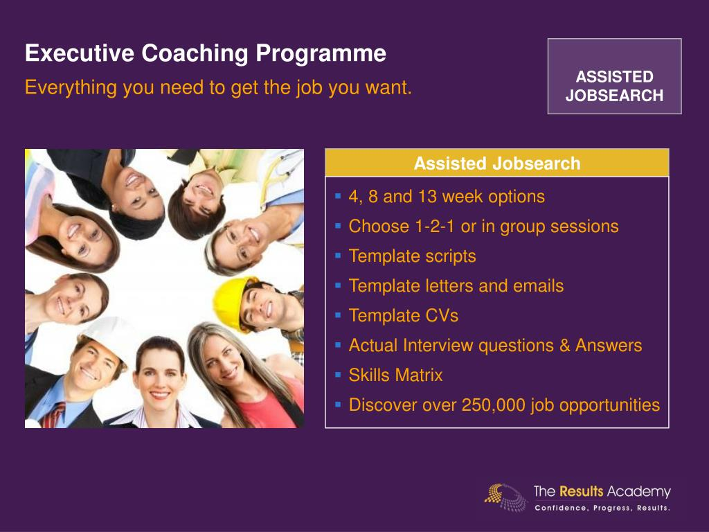 Executive Coaching Programme