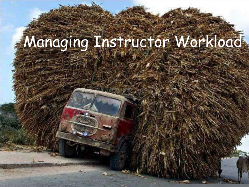 Managing Instructor Workload