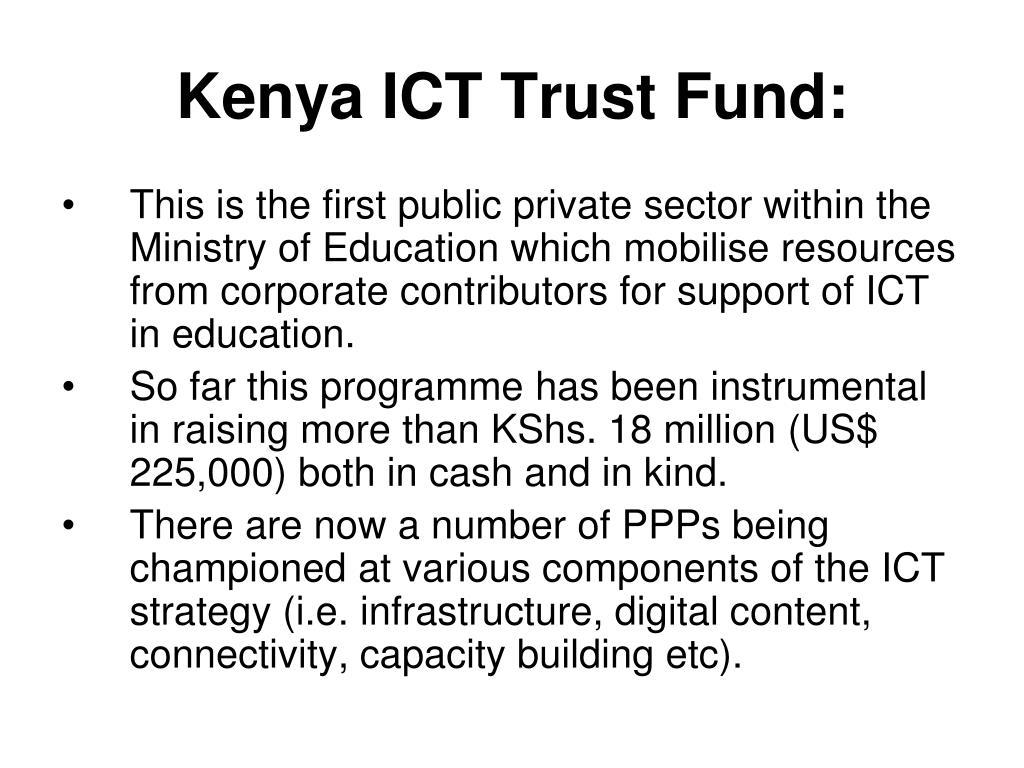 Kenya ICT Trust Fund: