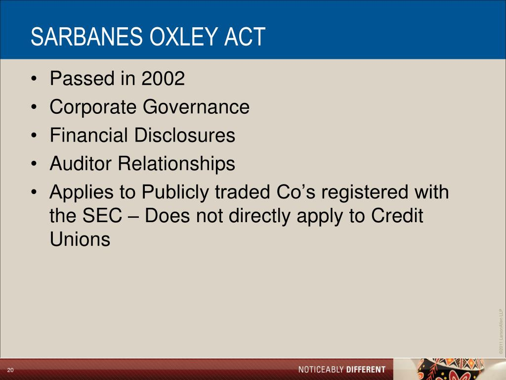 sarbanes oxley act 2002 was enacted in « heritage malta