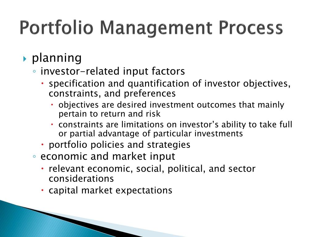 portfolio management in ppt Stakeholders for individual projects (project management) include project portfolio management is the art and science of applying a set of – a free powerpoint ppt presentation (displayed as a flash slide show) on powershowcom - id: 1248-ndnhz.