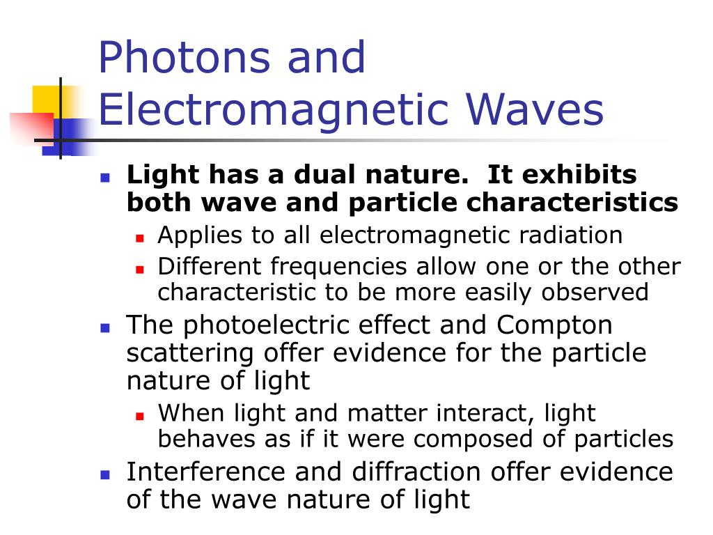 Photons and Electromagnetic Waves