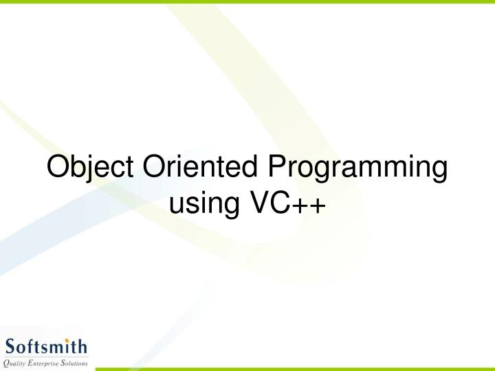 Object oriented programming using vc l.jpg