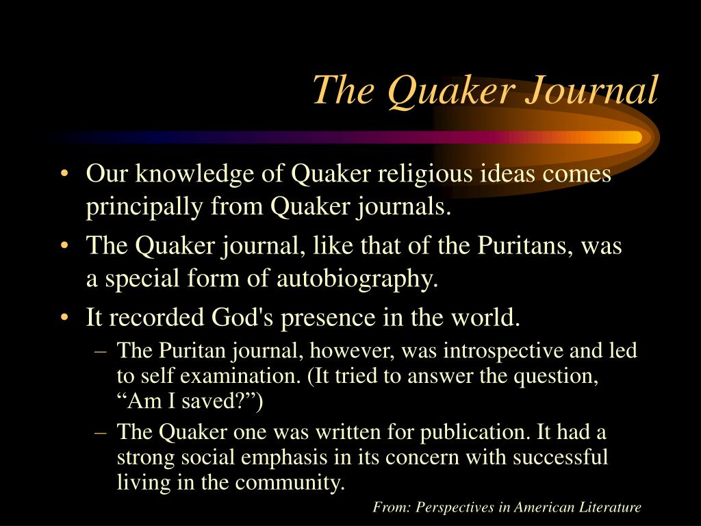 The Quaker Journal