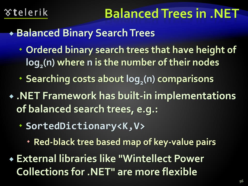 Balanced Trees in .NET