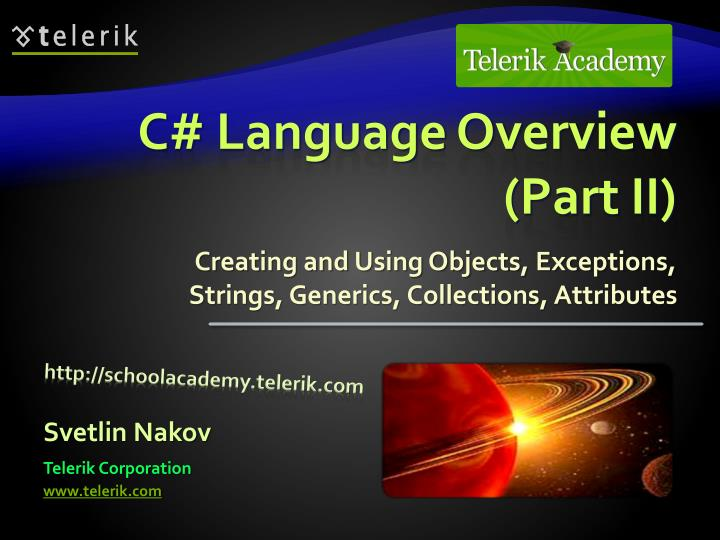 C language overview part ii l.jpg