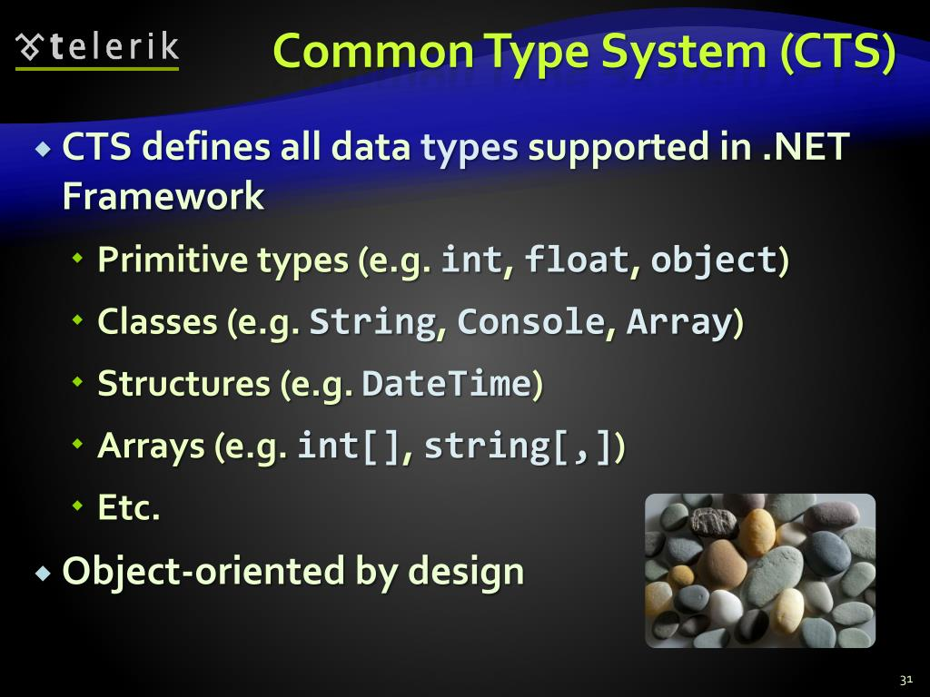 Common Type System (CTS)
