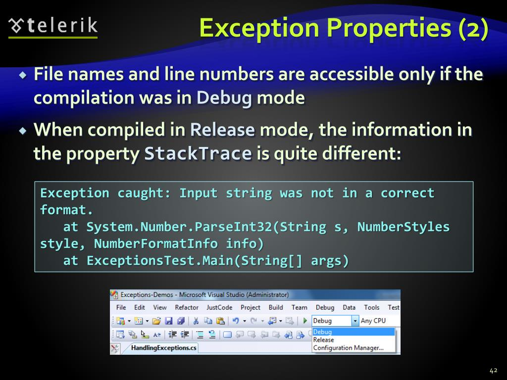 Exception Properties (2)