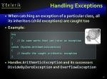 handling exceptions45