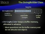 the stringbuilde r class