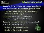 what are generics