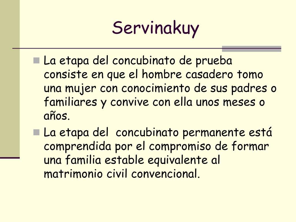 Servinakuy