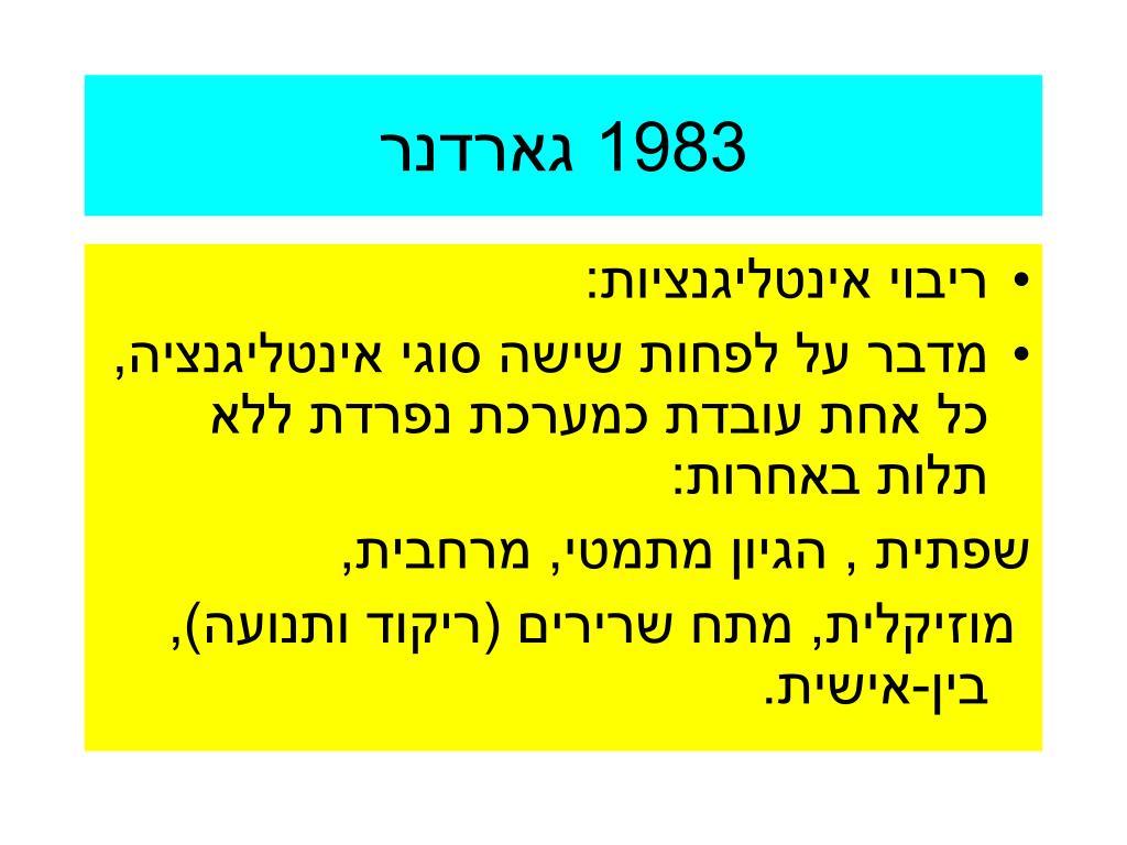 1983 גארדנר