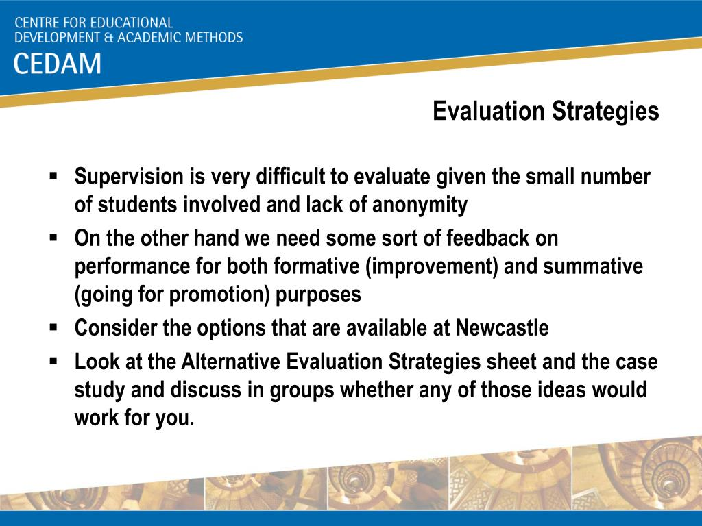 Evaluation Strategies