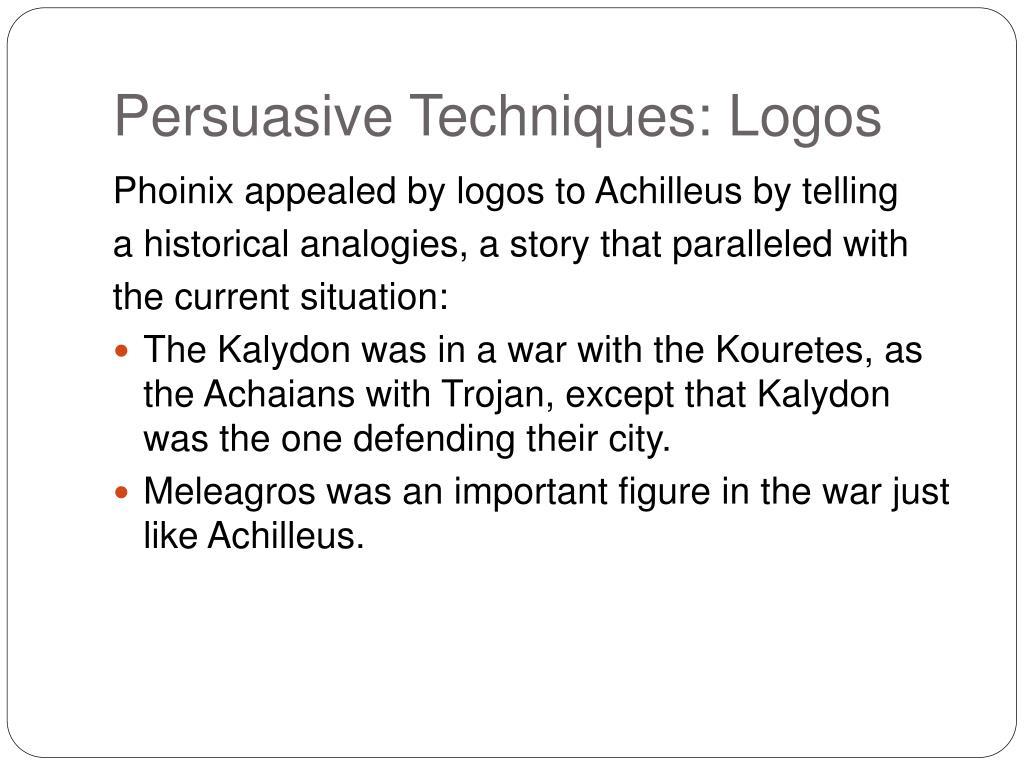 Persuasive Techniques: Logos