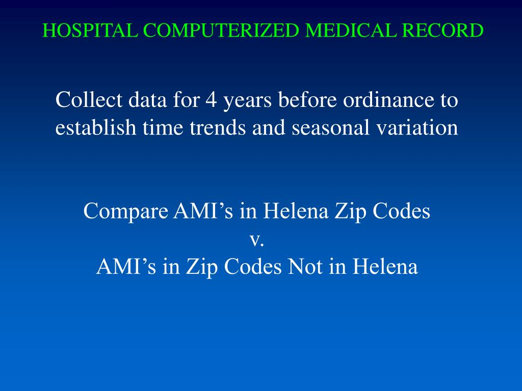 HOSPITAL COMPUTERIZED MEDICAL RECORD
