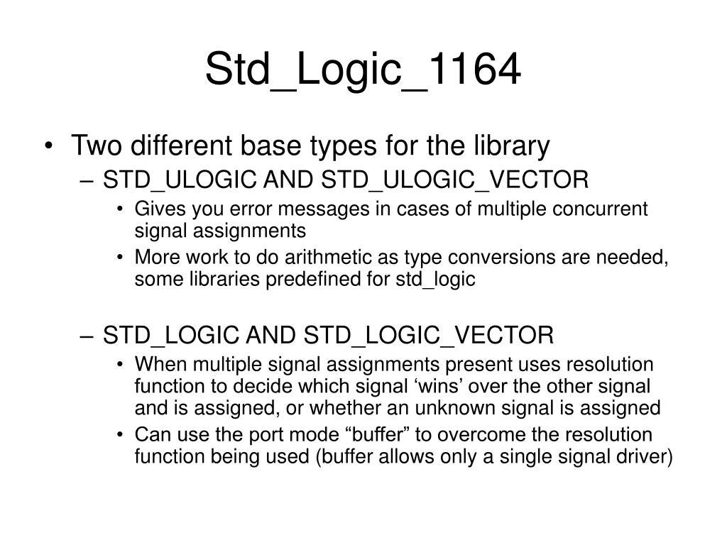 Std_Logic_1164